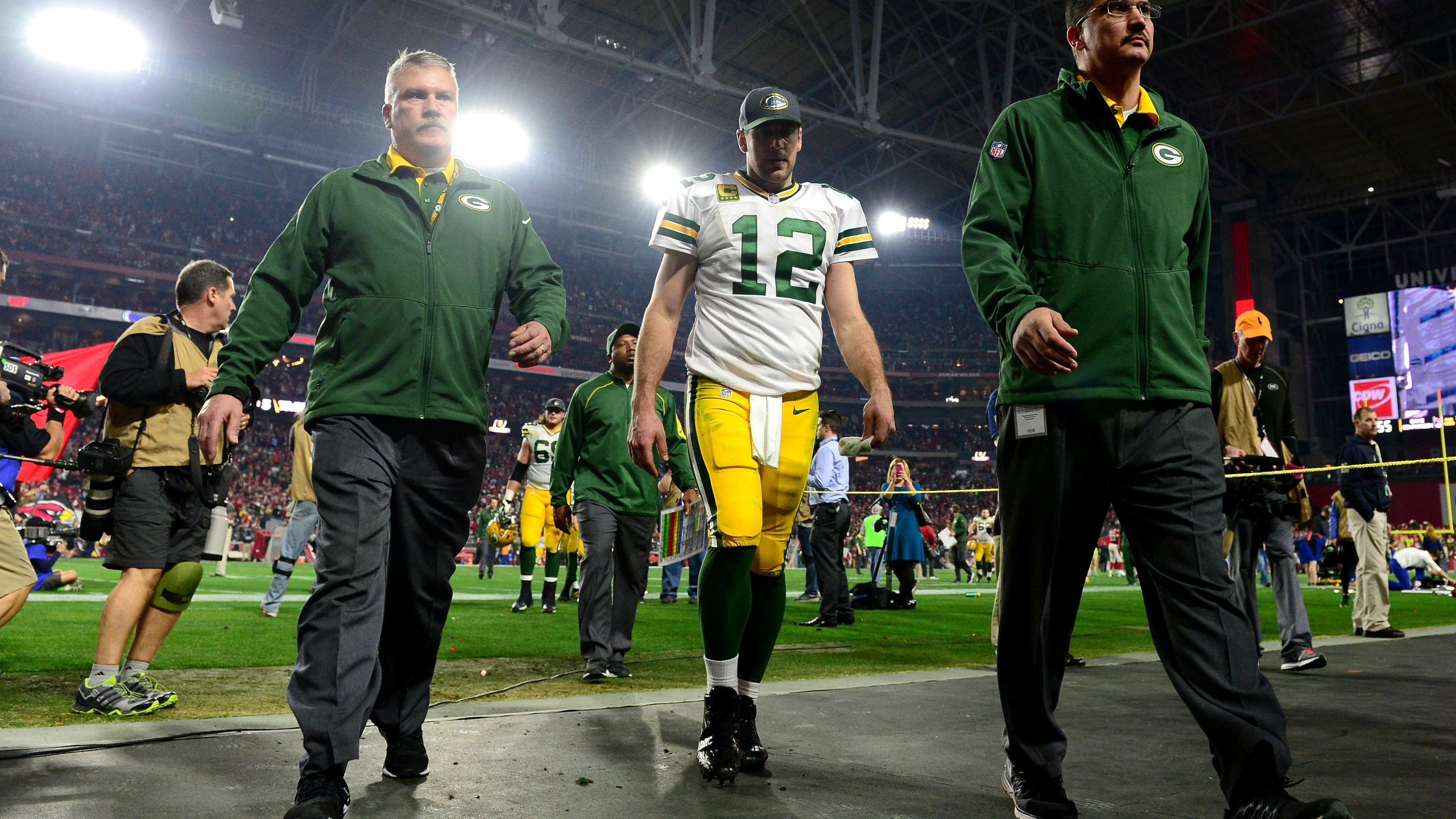 Packers fall to Cardinals on overtime