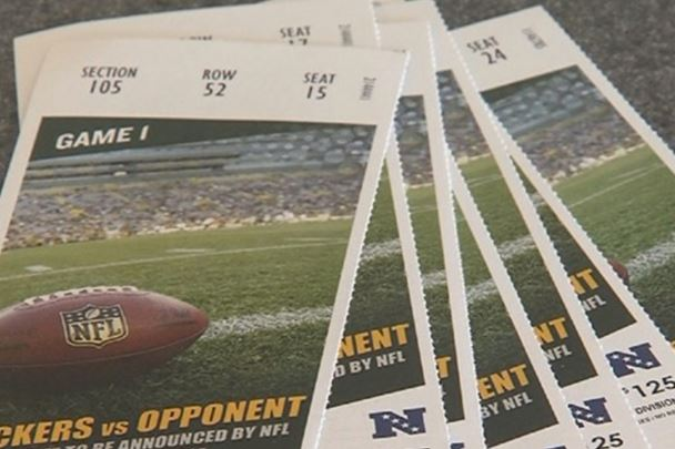 Several reports of counterfeit tickets for Packers v. Bears game, Green Bay warning fans