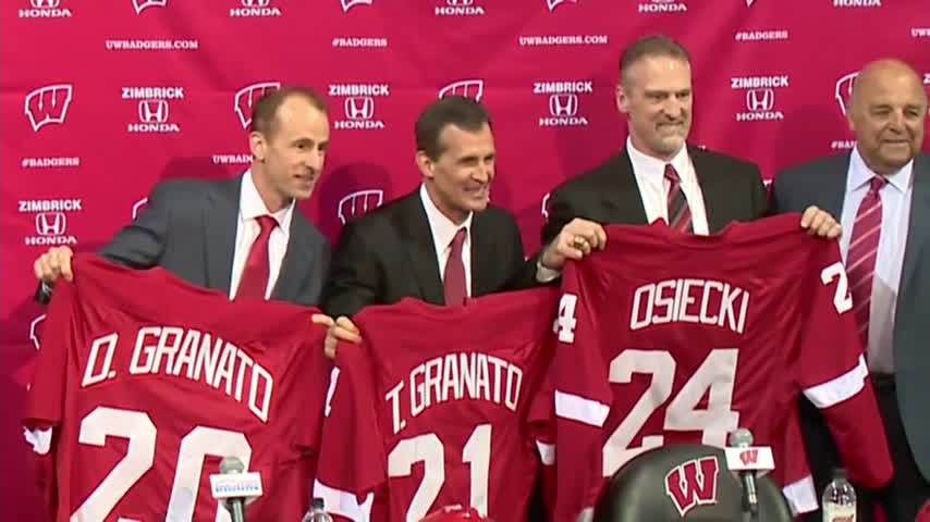 Badgers announce new coaching staff_66923810-159532