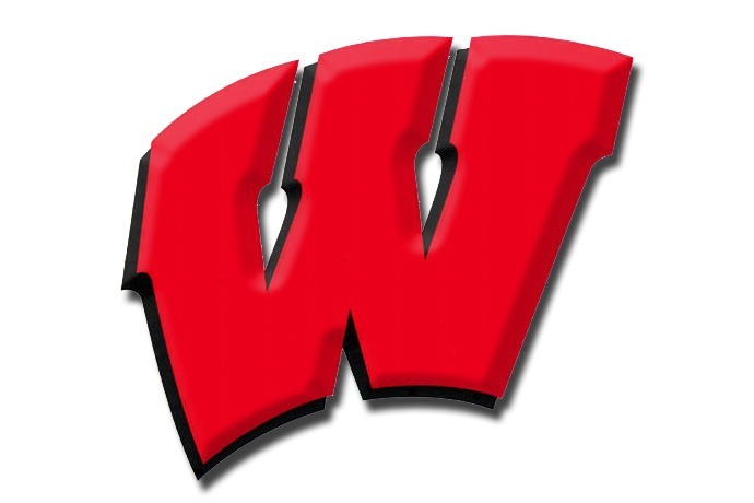 Wisconsin Badgers red logo_-3271632850490472253