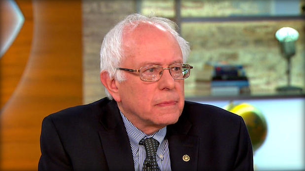Sanders on CBS This Morning`