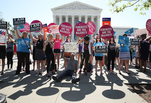 Supreme Court Abortion Ruling Getty