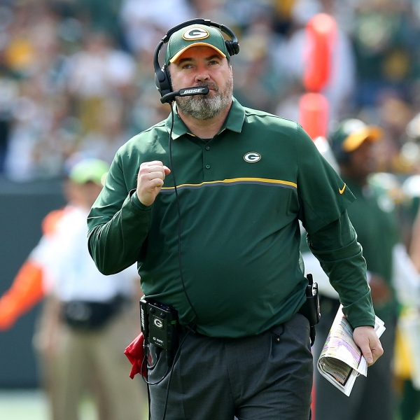 Packers Mike McCarthy vs Lions