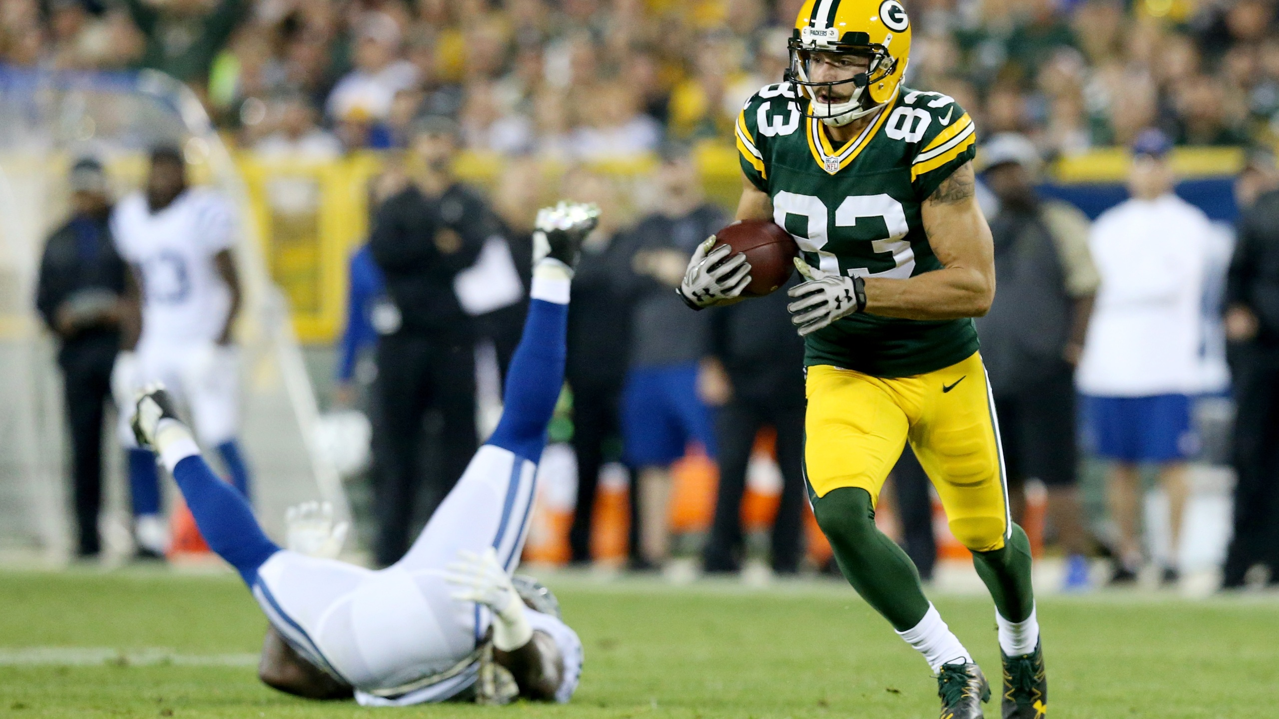 Packers Jeff Janis set to appear on Locker Room