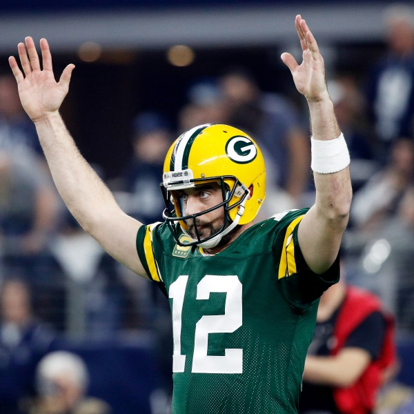 Packers Aaron Rodgers vs Dallas