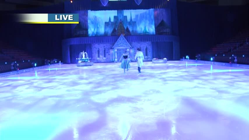Behind the Scenes at Disney On Ice: Passport to Adventure