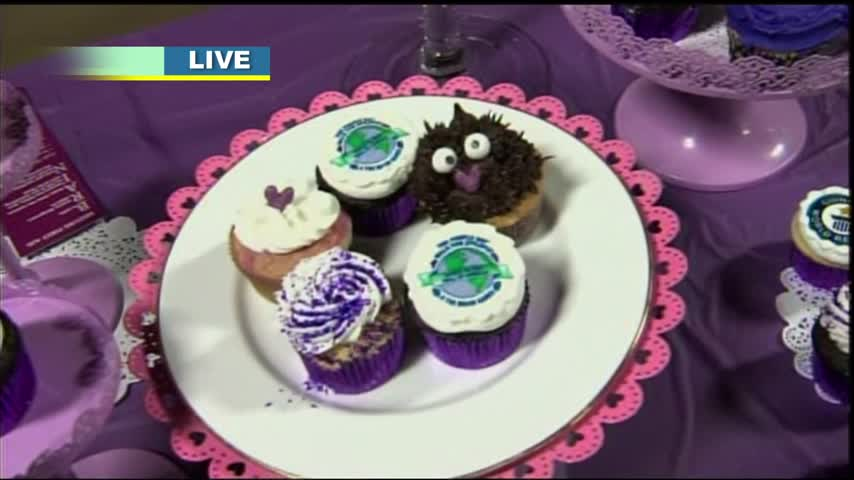 The Great Purple Cupcake Project 2017