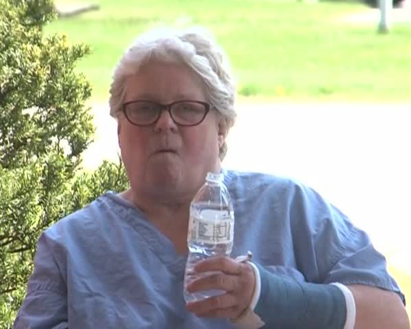 Manitowoc woman saved during fire