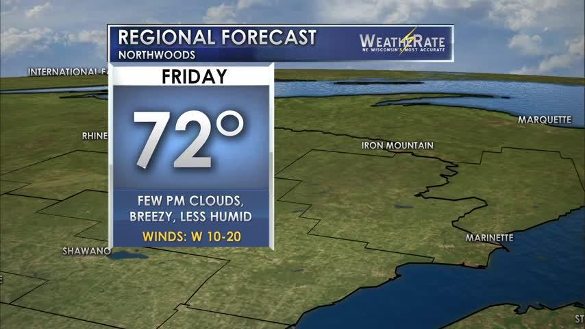 Regional Forecast: Northwoods 6/23/2017