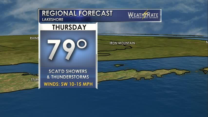 Regional Forecast Lakeshore 6-22