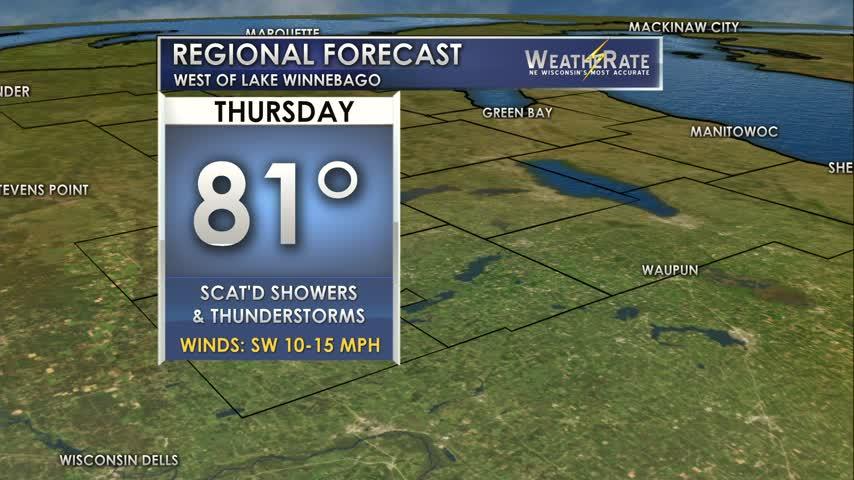 Regional Forecast Central WI 6-22