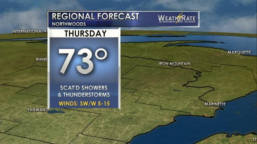 Regional Forecast Northwoods 6-22