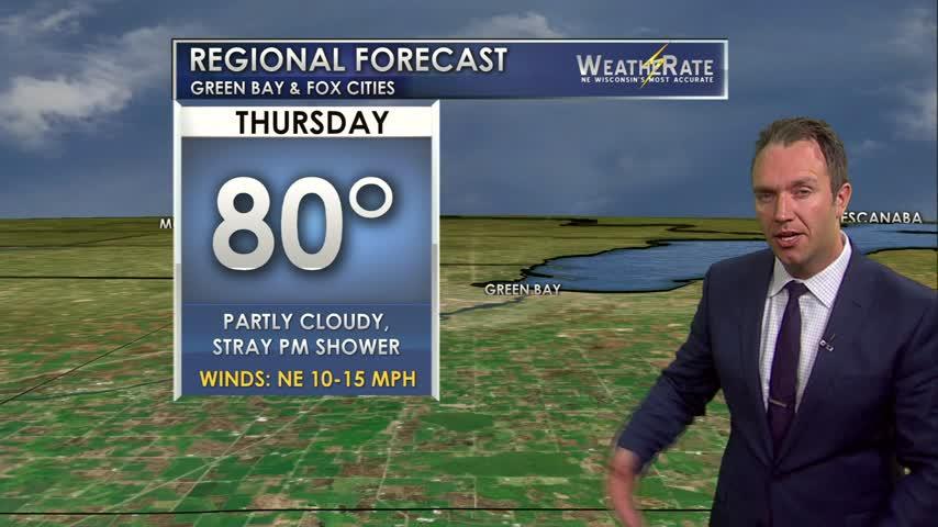 Regional Forecast Green Bay / Valley 7-27-17