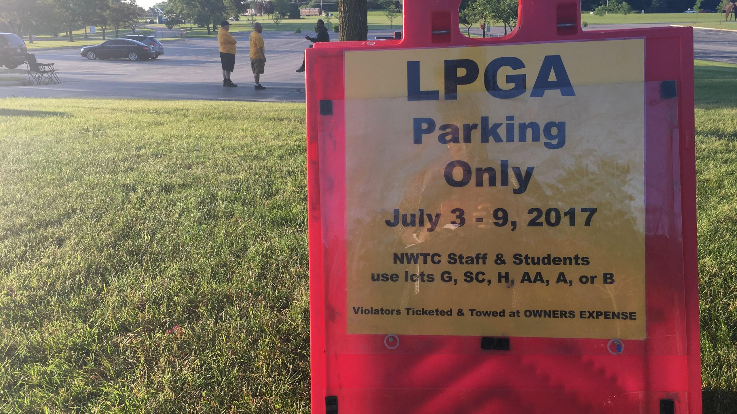 LPGA Parking