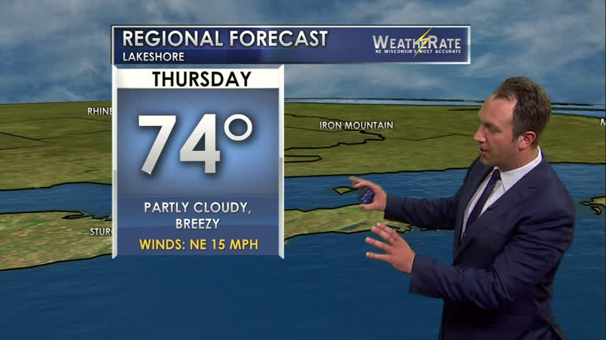 Regional Forecast Lakeshore 7-27-17