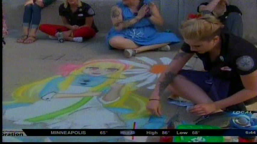 Chalk on the Town
