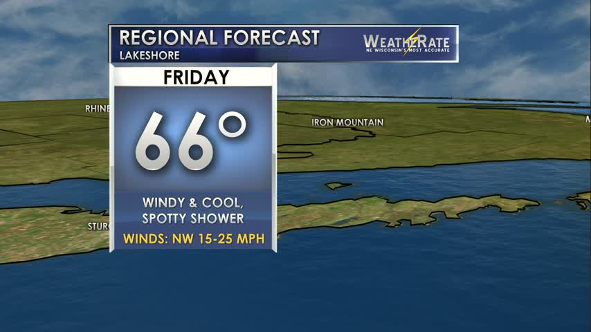 Regional Forecast Lakeshore 8-4