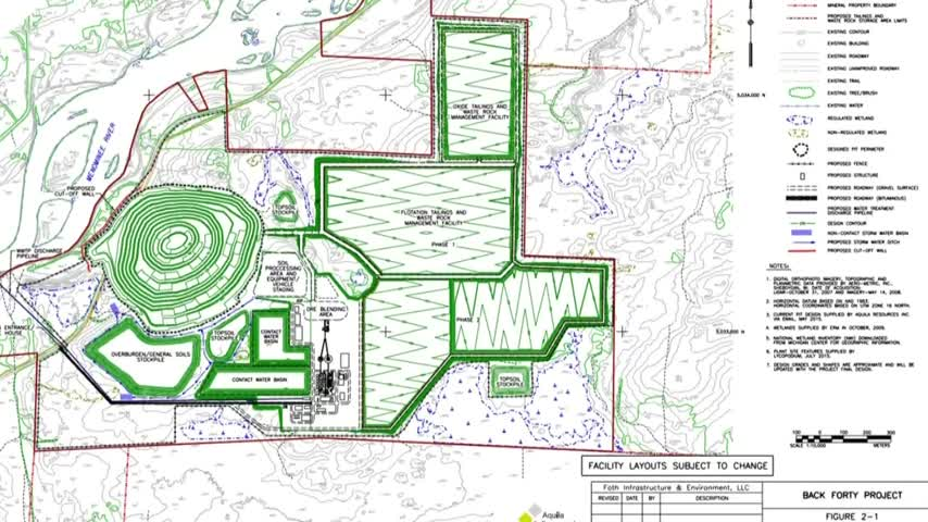 Aquila Resources talks about the back forty mine