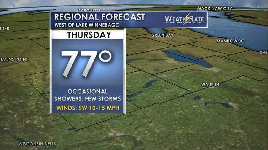 Regional Forecast: Central WI 8/17/2017