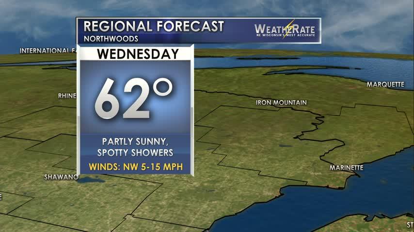 Regional Forecast Northwoods 9-6
