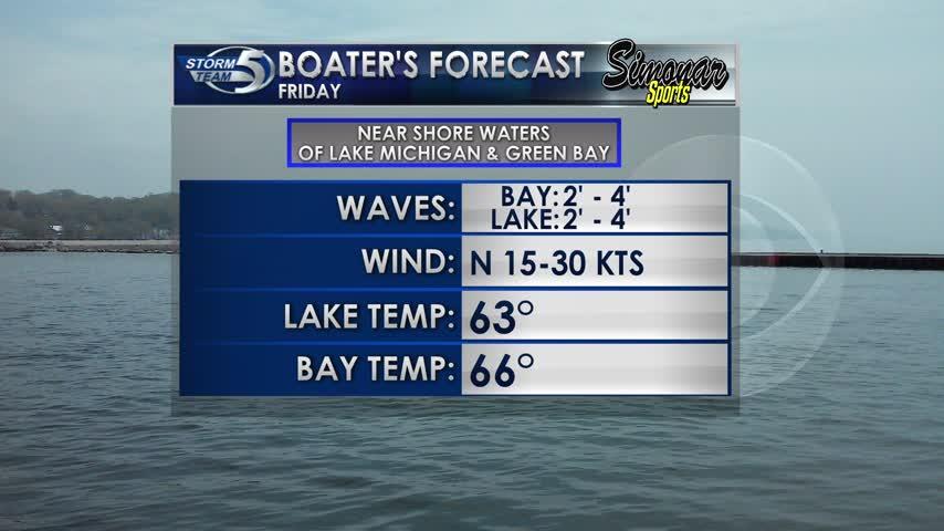 Friday Boater's Forecast 9-29
