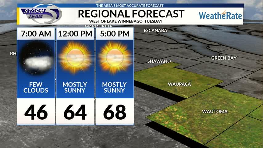 Regional Forecast Central WI 10-17