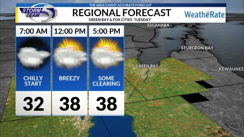 Regional Forecast Green Bay/Valley 10/31