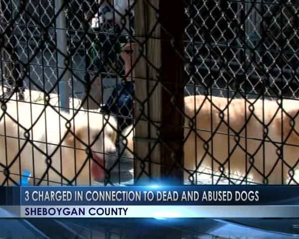 Three charged in Sheboygan County