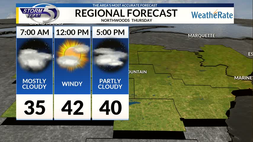 Regional Forecast Northwoods 11-30
