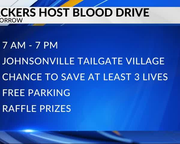 Packers to host blood drive