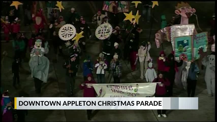 appleton xmas parade