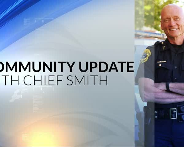 Community Update with Chief Andrew Smith 11-30-17
