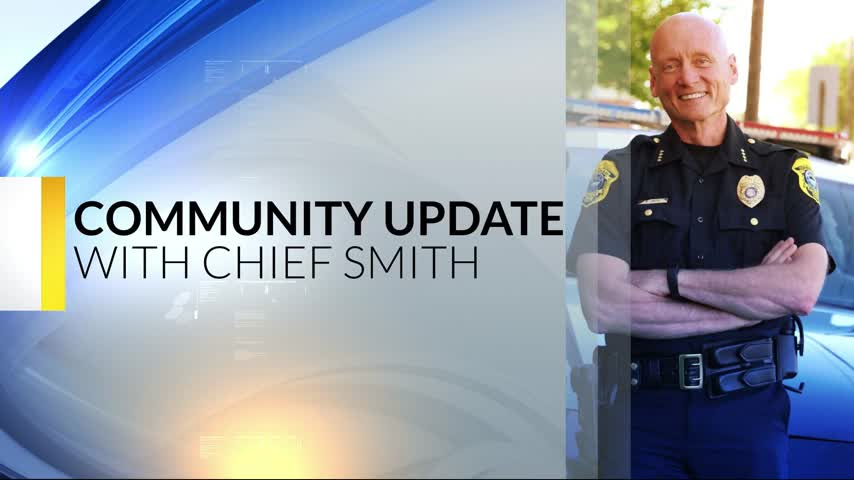 Chief Smith's Community Update: 11-2-17