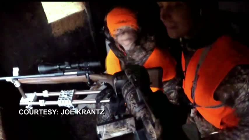 Six-year-old kills his first deer