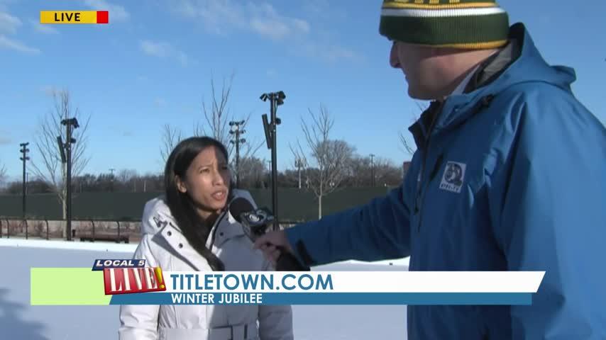 titletown ice rink
