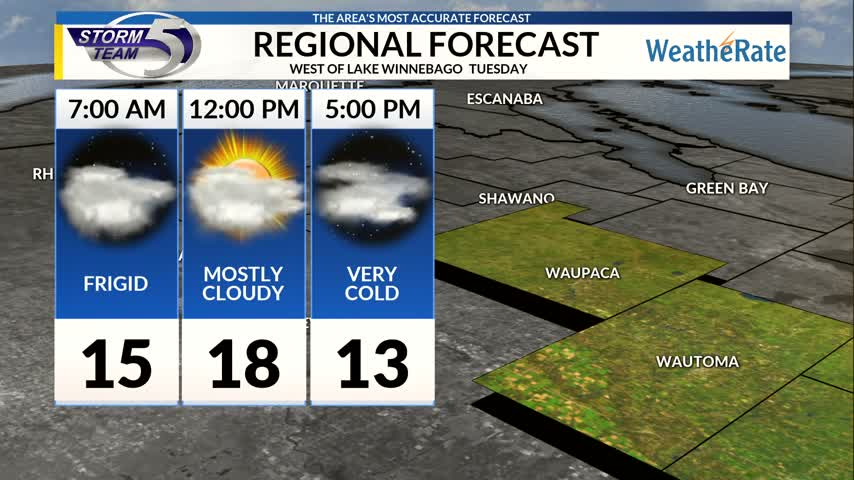 Regional Forecast Central WI 12-12