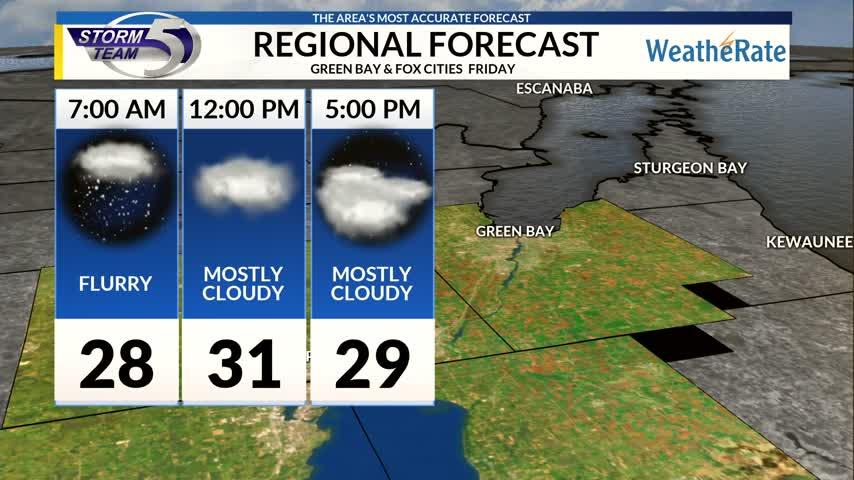 Regional Forecast Green Bay / Valley 12-22