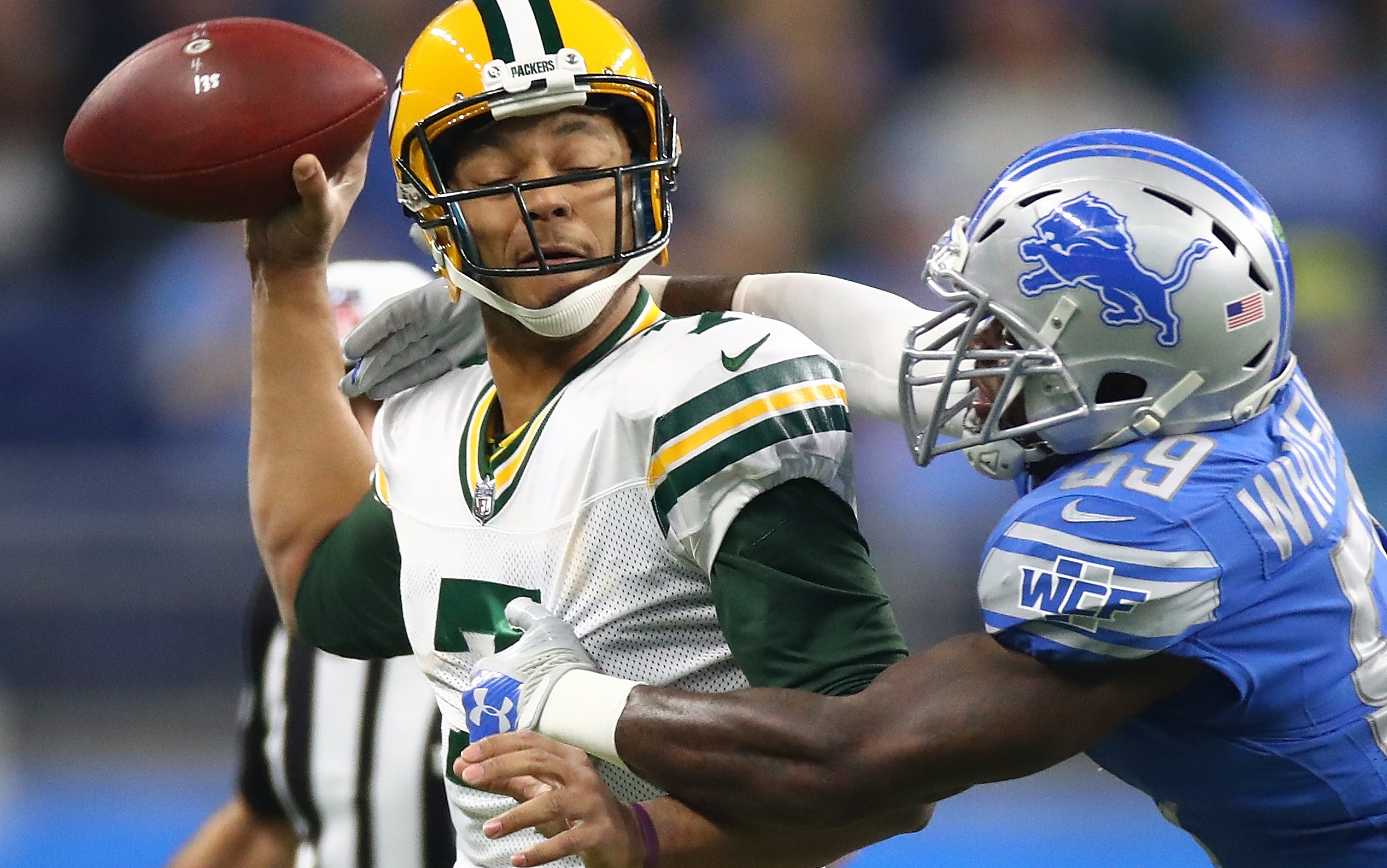 Packers fall to Detroit in season finale