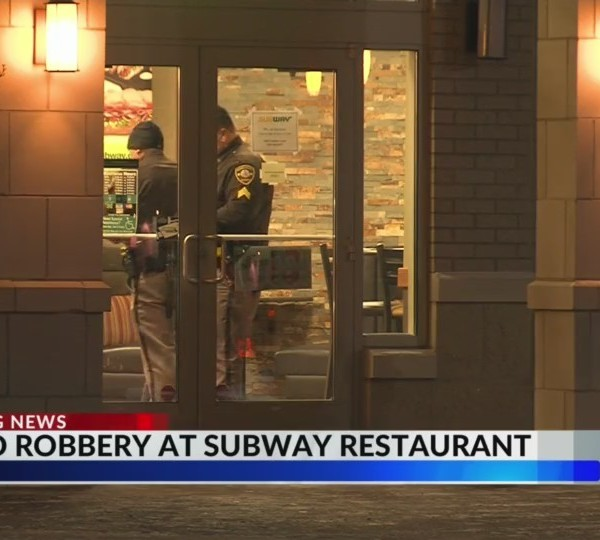 Subway Armed Robbery