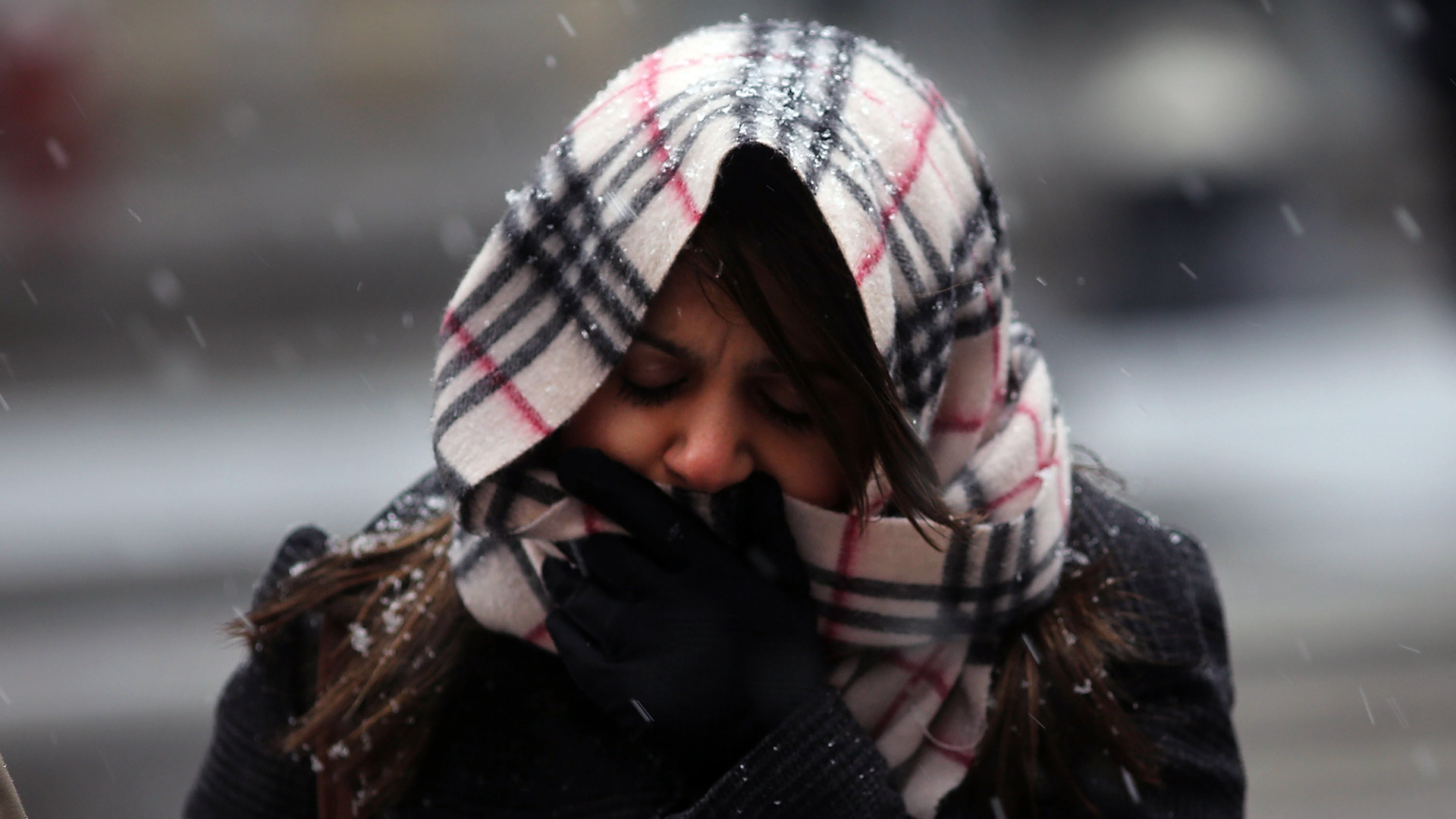 Woman bundled up for cold weather in NYC-159532.jpg27912019
