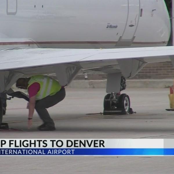 Appleton International offers nonstop flights to Denver