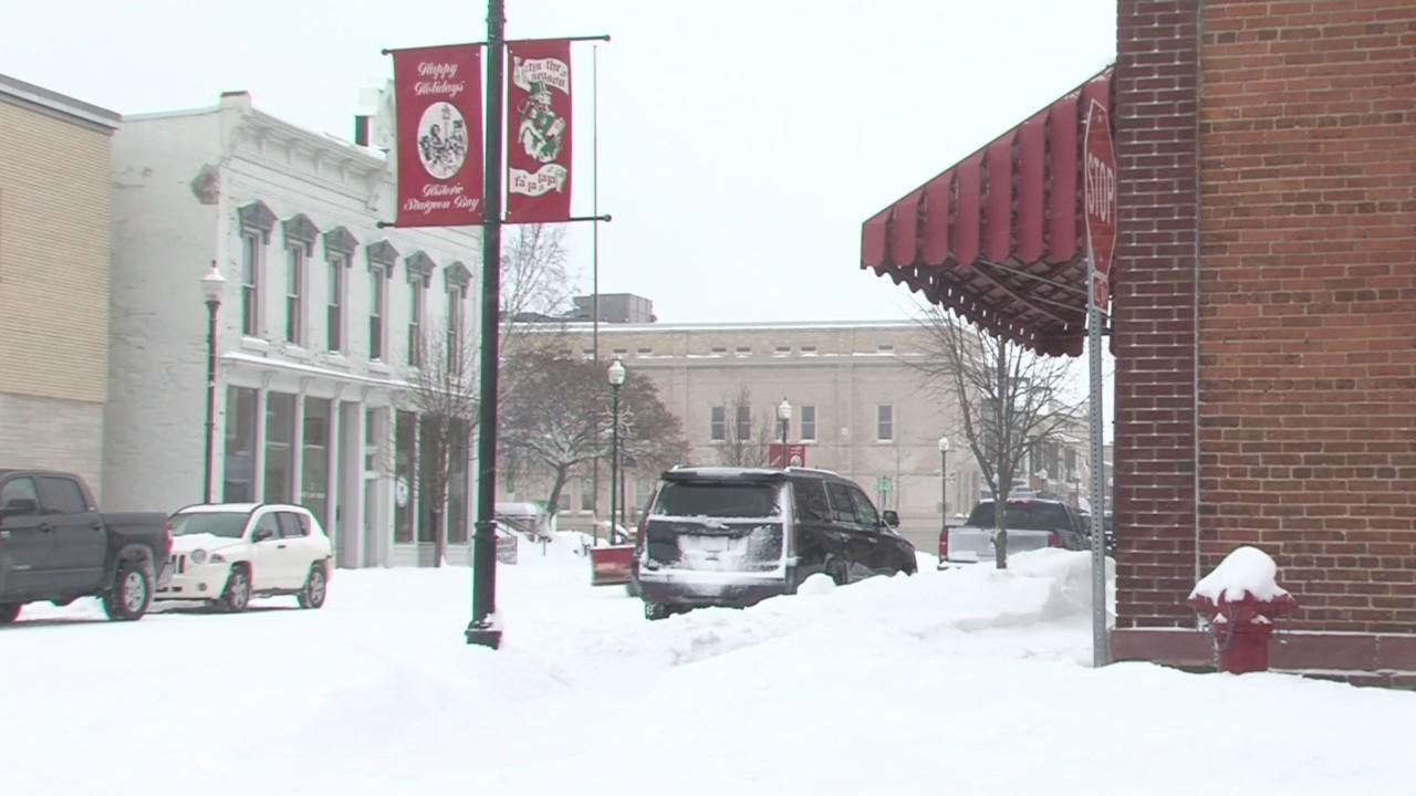 Door County Snow