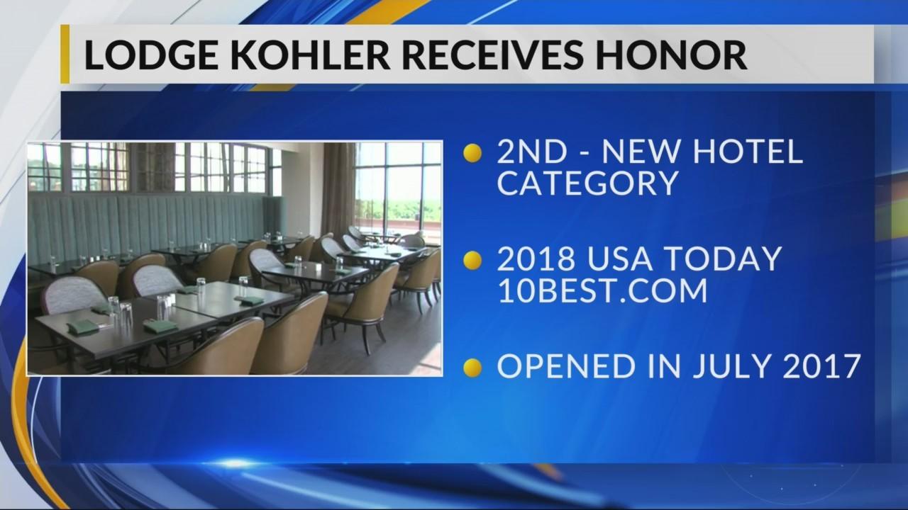 Lodge Kohler Recognized