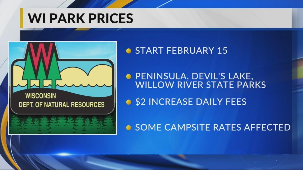 Park price increase