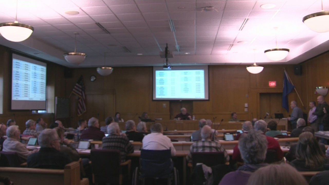 Tyco answers questions about water contamination at Marinette County Board meeting