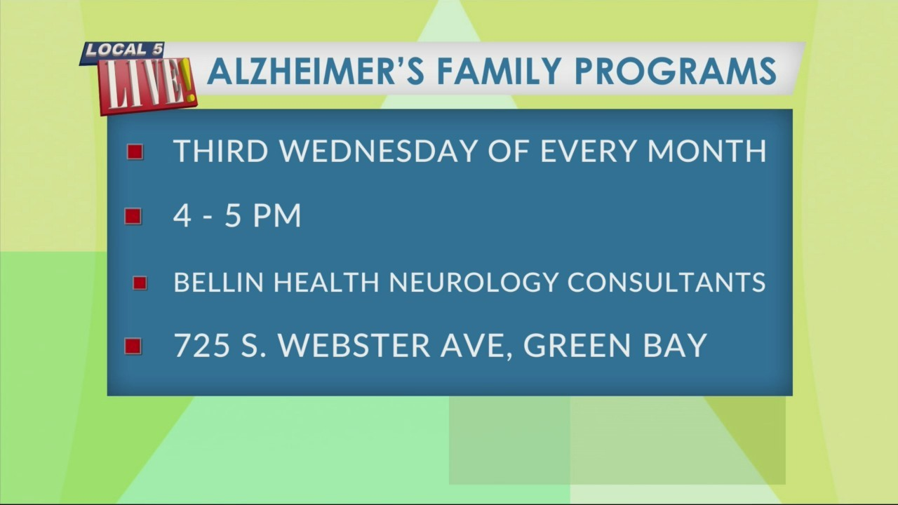 Your Health with Bellin: Alzheimer's Family Programs