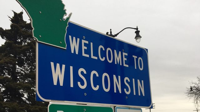 wisconsin state sign