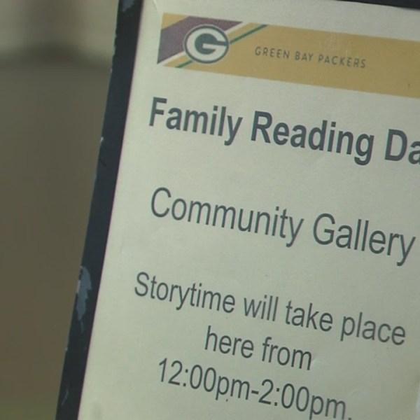 Family Reading Day held at Lambeau Field