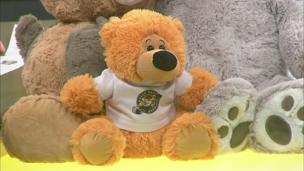 Green Bay Gamblers 2018 Teddy Bear Toss