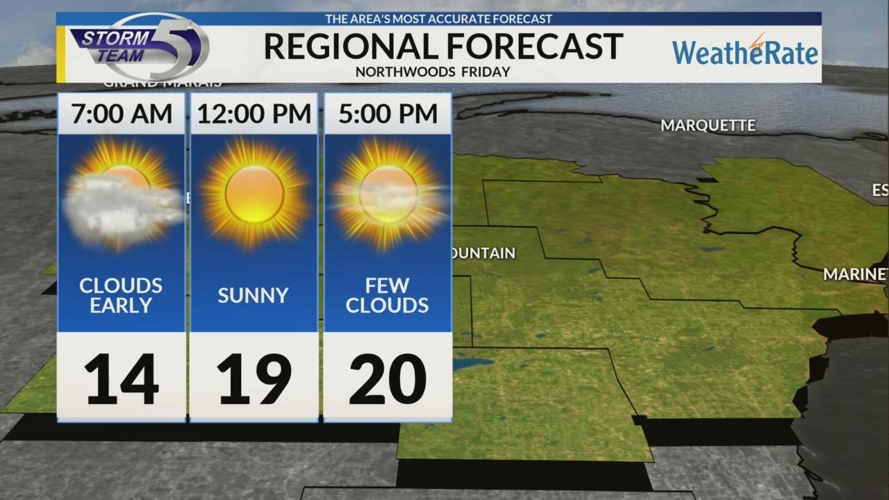 Regional Forecast Northwoods 2-16